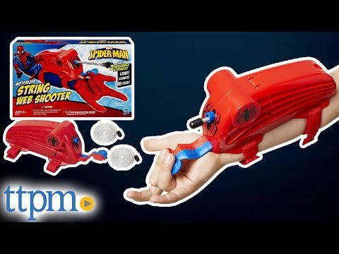 Marvel Ultimate Spider-Man Motorized String Web Shooter from Hasbro