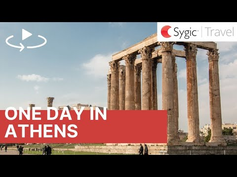 One day in Athens 360° Travel Guide with Voice Over
