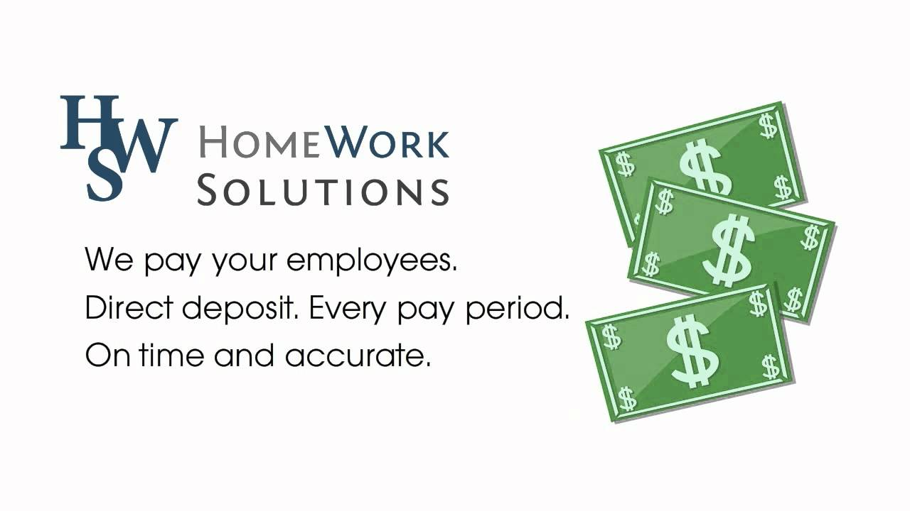 Household Payroll & Nanny Tax Services | HomeWork Solutions