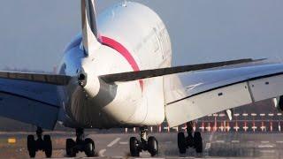 5 Heavy PLANES at Düsseldorf - AIRBUS A380, A350, Boeing 787