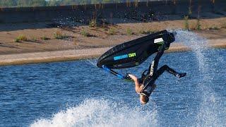 Brit Performs Incredible Stunts On Jet Ski
