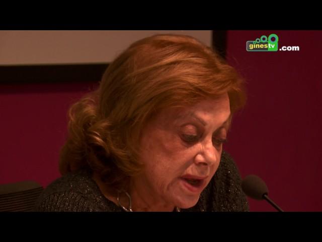 Amparo Rubiales ofreció en Gines una charla - coloquio sobre prevención de violencia de género