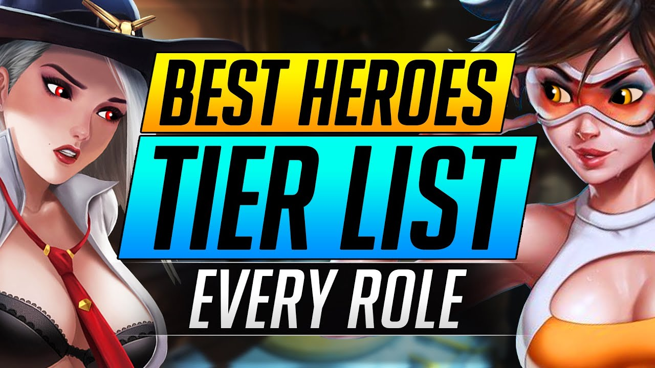 BEST and WORST Heroes Tier List - Overwatch DPS/Tank/Support Ranking - PRO Tips and Tricks Guide