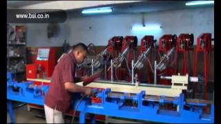 Cuplock standard pnumatic tagging fixture machine - bishan steel industires