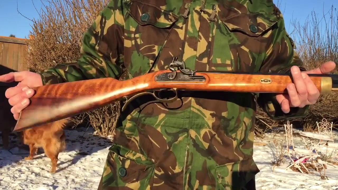 Lyman Black Powder Rifle, 50 Cal  Flintlock, Trade Rifle