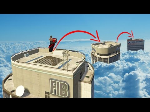 MOST EXTREME GTA 5 PARKOUR (GTA 5 Funny Moments)