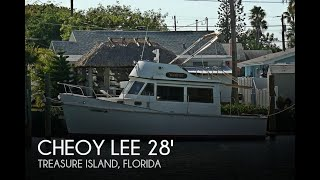 Used 1977 Cheoy Lee 28 Sedan Trawler for sale in Treasure Island, Florida
