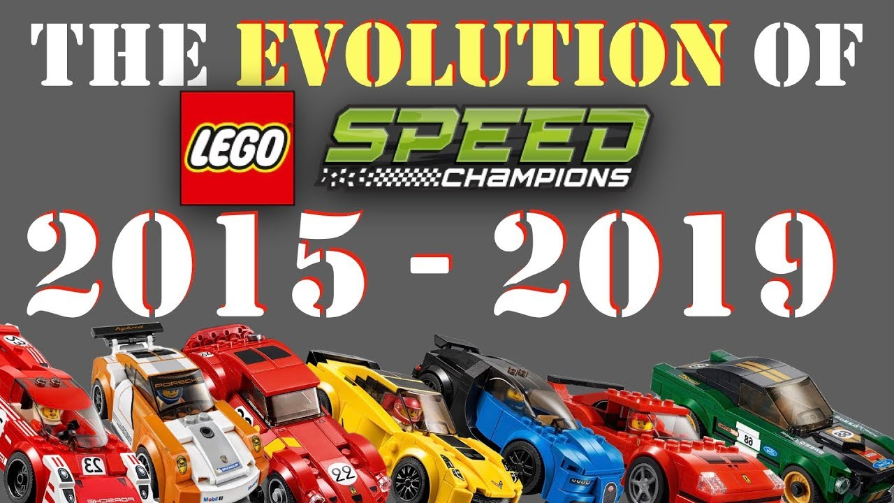 the evolution of lego speed champions 2015 2019 youtube. Black Bedroom Furniture Sets. Home Design Ideas