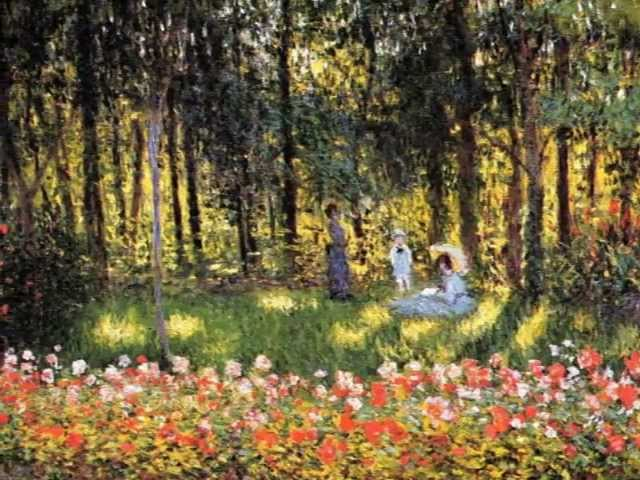 Paintings By Monet Music By Debussy Youtube