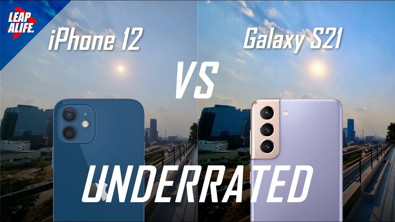 Samsung Galaxy S21 vs iPhone 12 - Camera Comparison - Unexpected results