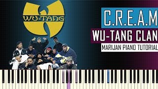 how-to-play-wu-tang-clan-c-r-e-a-m-piano-tutorial-sheets