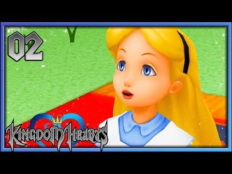 KINGDOM HEARTS 1 HD : Alice est Coupable ! #02