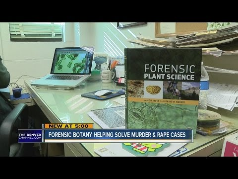 Forensic botany helping solve murder and rape cases