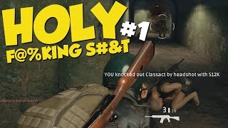 HOLY F@%KING S#&T #1 - PU BATTLEGROUNDS Funny Moments