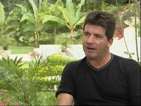 Simon Cowell & Paula Abdul - Their thoughts on each other behind the scenes- plus the Kiss!