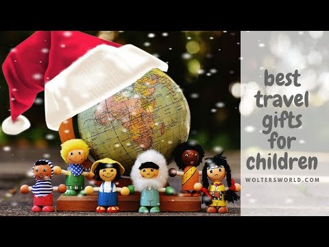 The Best Travel Gifts for KIDS - Holiday Gift Guide for Travelers