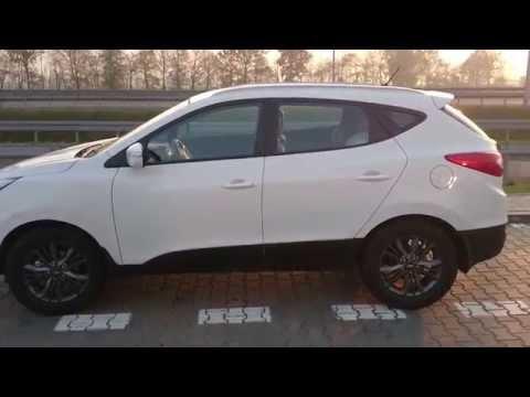 Hyundai ix35 135km mini test 1,6 GDI