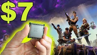 Fortnite with a BUDGET CPU!