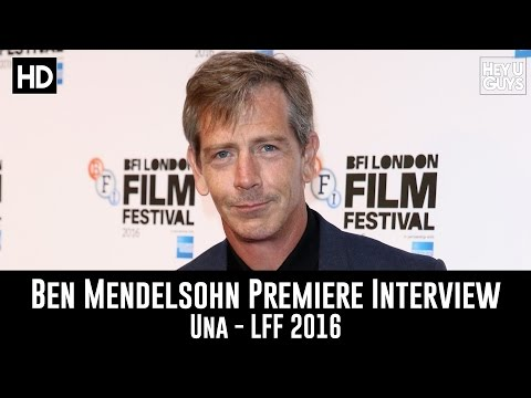 Ben Mendelsohn LFF Premiere Interview - Una