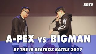Apex VS Bigman | By The JB Beatbox Battle | 1/4 Final