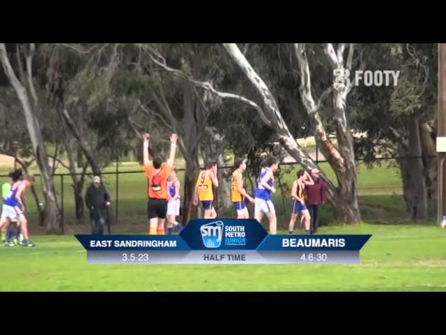 2013 SMJFL Grand Final Under 13 Div 1 - East Sandringham v Beaumaris