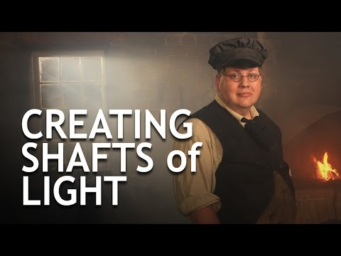 Creating Shafts of Light for Photo and Video