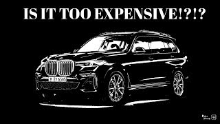 BMW X7 Build & Price | Is the X7 too Expensive!?!?
