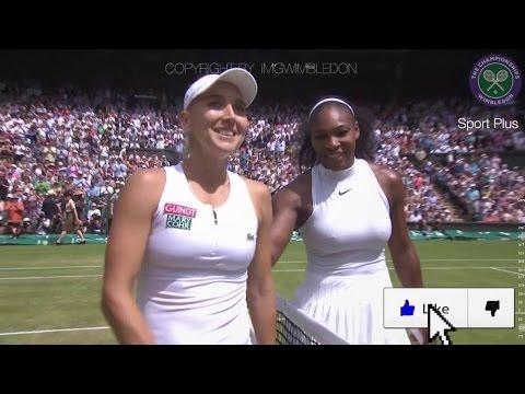 ☞ Serena Williams Jouney to Wimbledon 2016 Championship - Best Serena's moments  in Wimbledon 2016