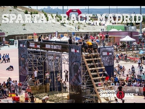 REEBOK SPARTAN RACE MADRID 2014 Full Race  ¡AROO!
