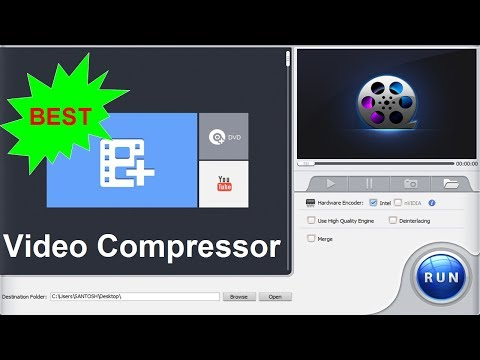 Best Video Compressor for YouTube without Losing Quality | FREE Video  Compression Software for PC