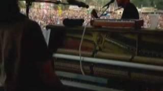 Jack Johnson @ Glastonbury 2010 - 3. Never Know & Red Wine, Mistakes, Mythology