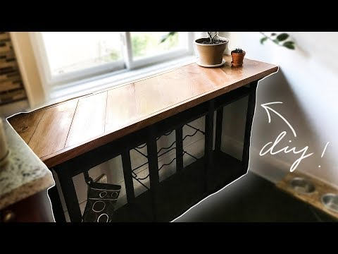 I made the kitchen credenza of my DREAMS!