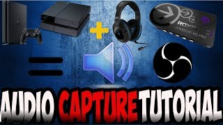 HOW TO RECORD GAMECHAT/ PARTY AUDIO WITH ROXIO GAME CAPTURE HD PRO (2017)
