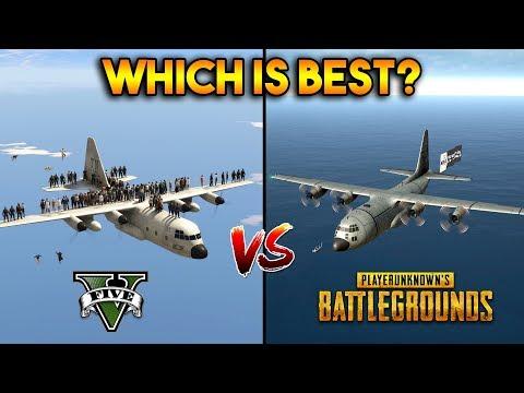 GTA 5 VS PUBG : WHICH IS BEST?
