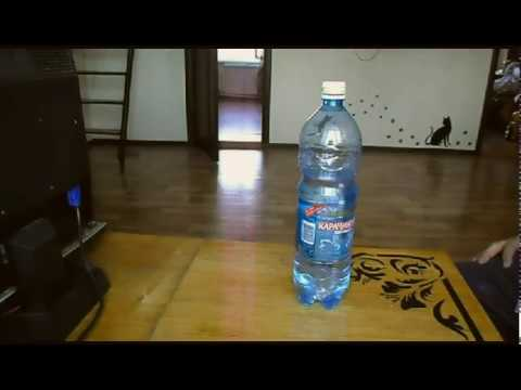 Как открыть плотно закрытую пластиковую бутылку