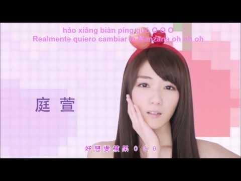 [HD]Popu Lady - Apple Really want to change/好想變蘋果(Spring Love/Mei Ren Long Tang) Sub español/ pinyin