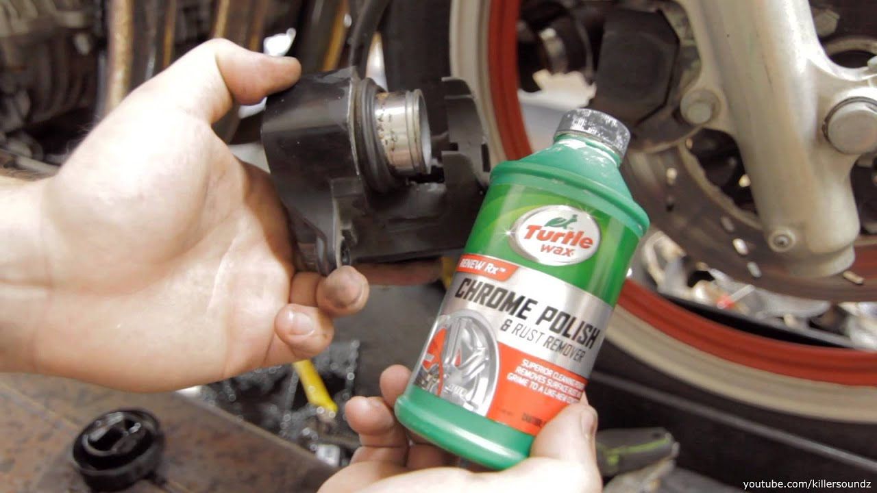 Cleaning Brake Calipers Motorcycle
