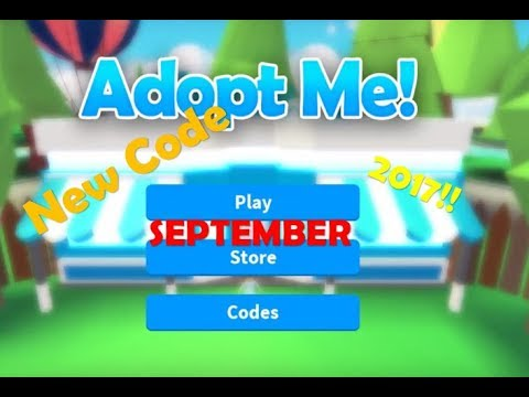 Roblox Adopt Me Codes 2017 New Code Adopt Me September 2017 Patched Youtube