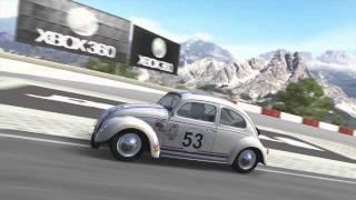 Volkswagen Beetle Herbie A Tope (Herbie Fully Loaded) Replica - Camino Viejo de Montserrat Forza 4
