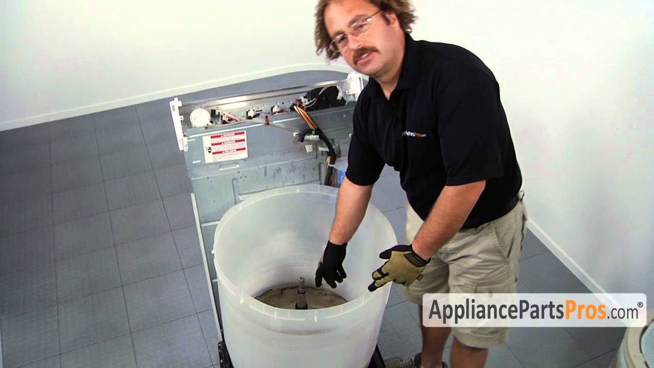 Washer Outer Tub Part 63849 How To Replace Youtube