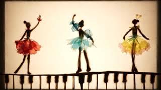 アンデルセン【小さいイーダの花】『朗読 』×『音楽』×『サンドアート』の動く砂の絵本!