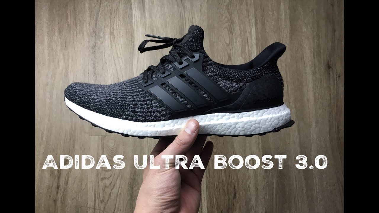 d687bb2206f1fd Adidas Ultra Boost 3.0  Core Black Utility Black