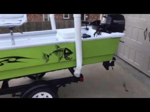 TRex Bed Liner Bohn Boat Restoration Complete YouTube - T rex bed