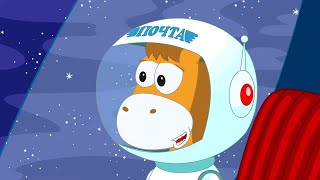 ПониМашка - Охота по-африкански - Мятная луна - Познавательные мультфильмы для детей