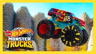 EPIC Island Hot Wheels Race Course! I Monster Trucks Island | Hot Wheels