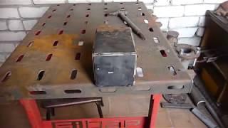 Сборка бака, резервуара, короба из листовой стали