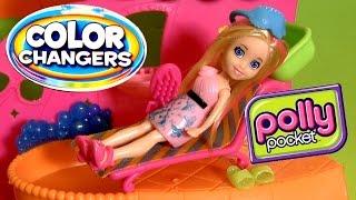 Polly Pocket Color Change Makeover Salon by Disney Collector Muñeca Salón de Belleza Color Changers