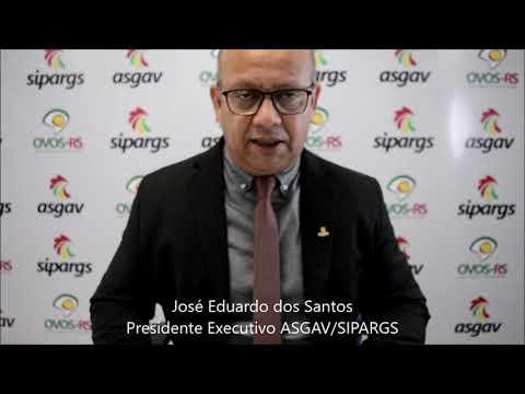 Manifesto e Pronunciamento - Presidente Executivo da Asgav/Sipargs, José Eduardo dos Santos.