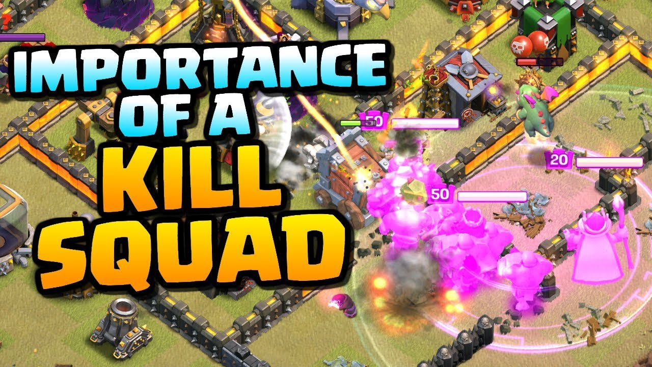 IMPORTANCE of a KILL SQUAD | Wall Wrecker Attack Strategy | Clash of Clans