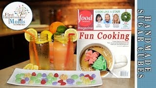FIRST IMPRESSIONS MOLDS: Sugar Cubes From Food Network Magazine